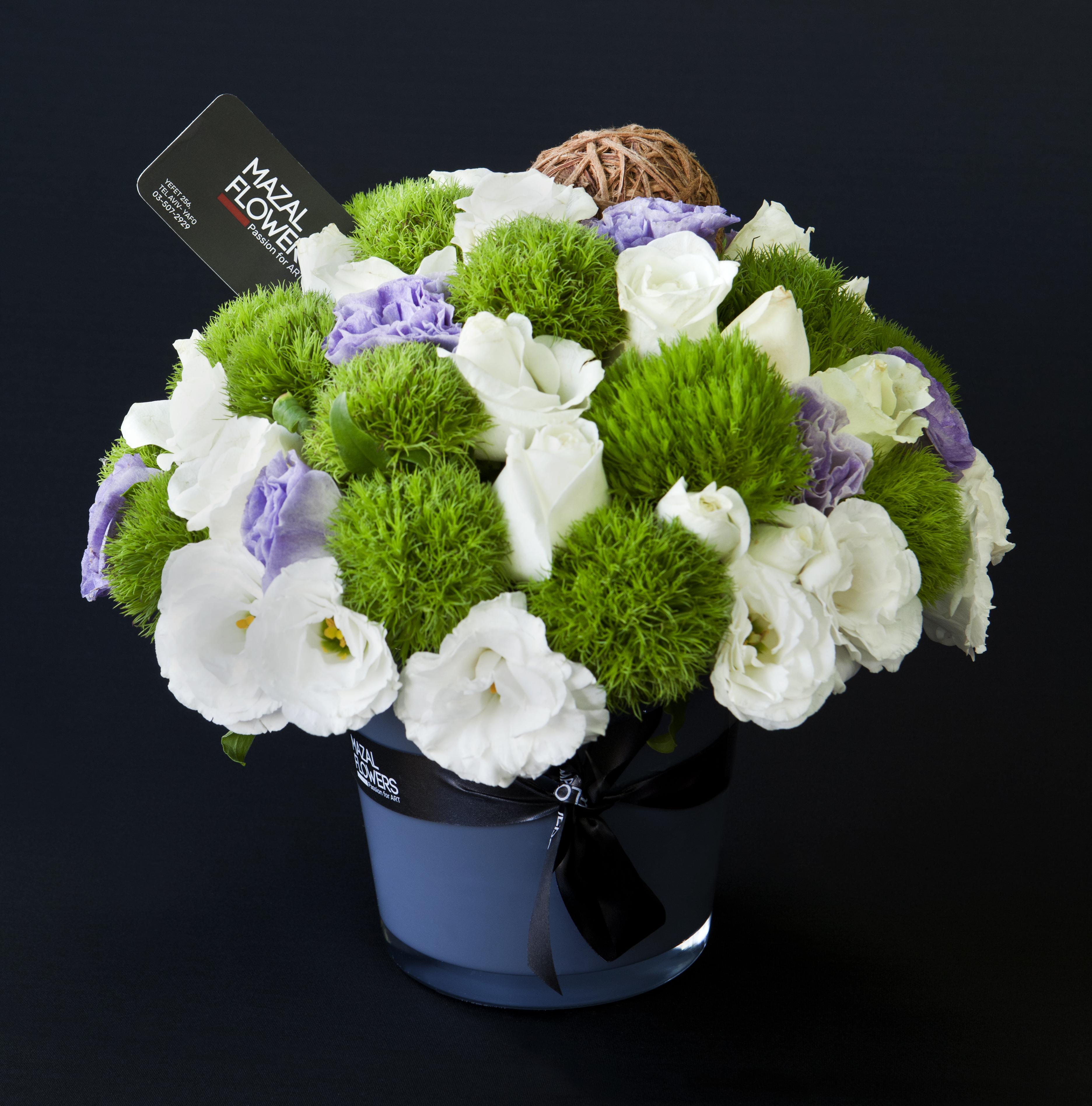 סט פרחים ליזי